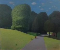 Nostalgic Landscape; oil; 20x24 inches