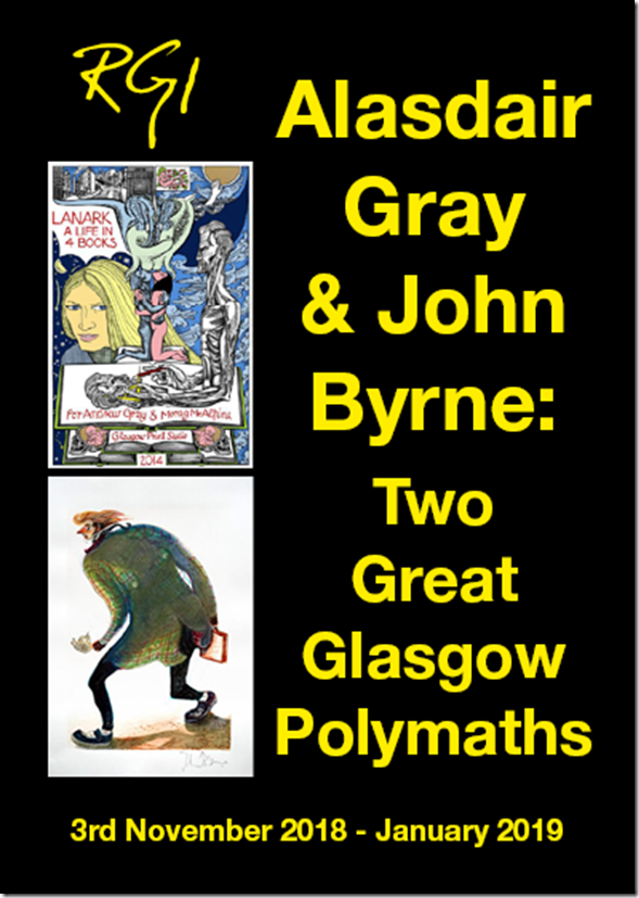 Exhibition flyer front